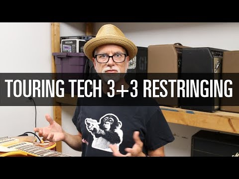 Greg Howard, Guitar Tech on Restringing Touring Guitars