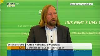 Anton Hofreiter zum Scheitern der Sondierungsgespräche am 20.11.17