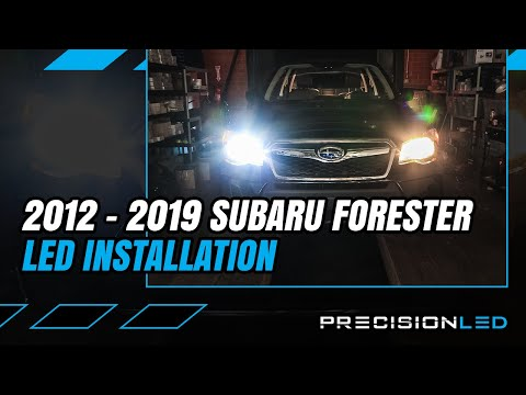 Subaru Forester LED Headlights How To Install – 4th Gen 2012+