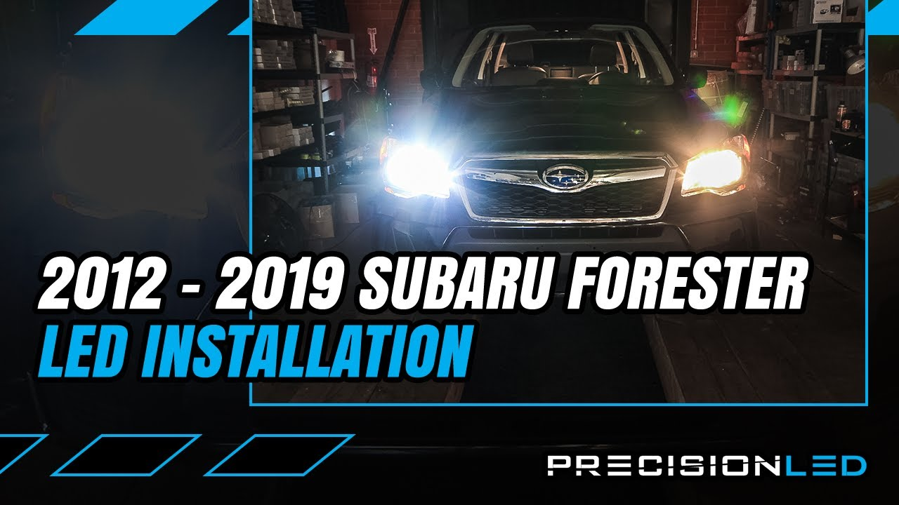 Subaru Forester Led Headlights How To Install 4th Gen 2017