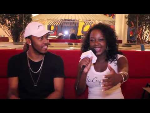 JaGurl TV interview with Courtlin Jabrae