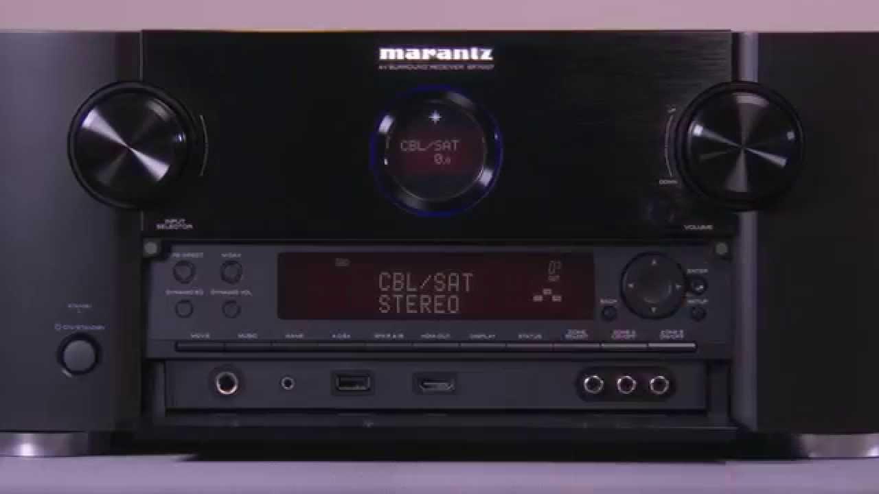 Marantz SR7007 home theater receiver | Crutchfield video