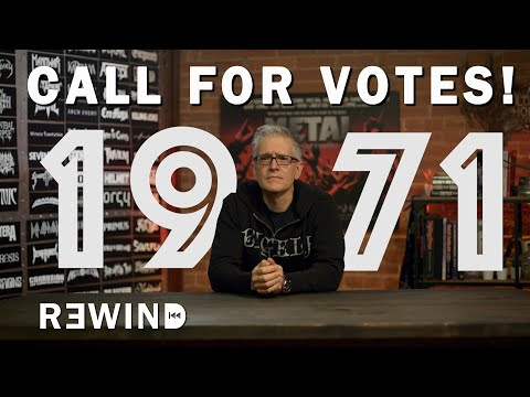 YOU TELL US: BEST HEAVY METAL OF 1971 | Overkill Rewind