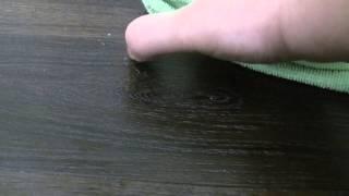 видео Восстановление паркета своими руками и как убрать царапины