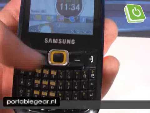 IFA 2009 - Samsung B3210 Corby TXT