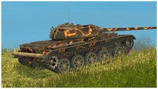 T 54 ltwt EASY HERO RASEINIAI WoT Blitz Replay