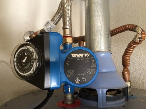 How to Install a Hot Water Recirculation Pump (Part 1: Watts 500800)