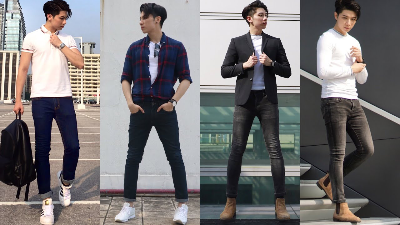 4 EASY SPRING SUMMER OUTFITS FOR MEN | Outfit Inspiration | Men 's wear |男生日常穿著 | ISSAC YIU 3