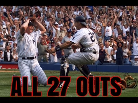 David Cone Perfect Game: 7/18/1999 (All 27 Outs)