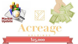 Market update! I bough 25,000 dollars of acreage holdings stock