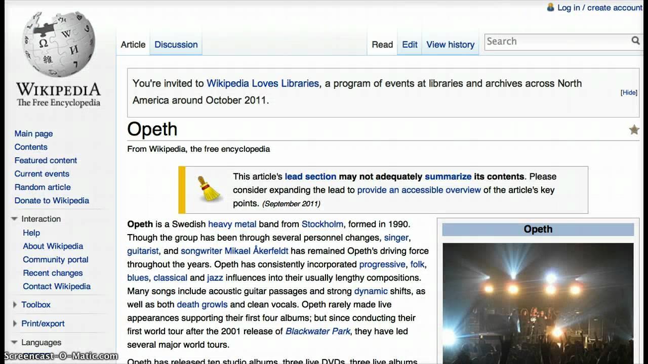 Opeth Heritage Youtube