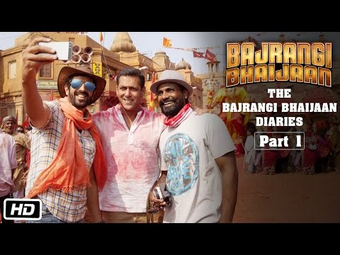 The Bajrangi Bhaijaan Diaries - Part I | Selfie with Salman Khan