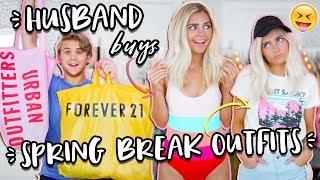 My Husband Buys My Spring Break Outfits! | Aspyn Ovard
