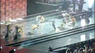 MADONNA Milano / Hung Up Live% (Ambient Edit) (MDNA Tour 2012)