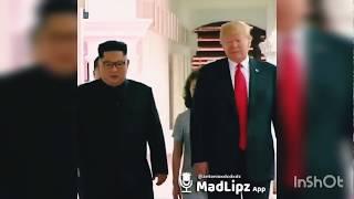 DONALD TRUMP SE BURLA DE KIM JONG-UN XD ( de Darck XD) | Random