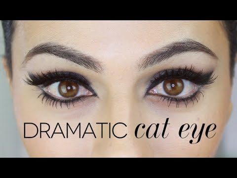 Sophia Loren Inspired Cat Eye Tutorial