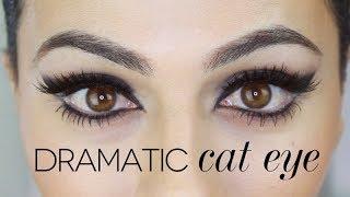 sophia loren inspired cat eye tutorial   eye makeup tutorial   teni panosian