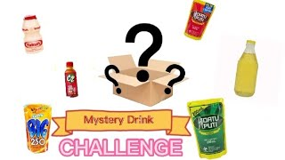 Mystery Drink Challenge (With a Twist) || Aly Marikit