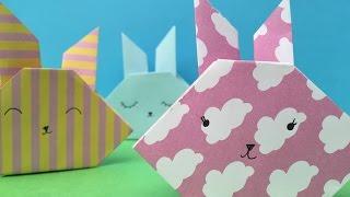 Easy Origami Bunny