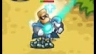 Kingdom Rush Vengeance - Lightseeker Camp - Veteran 3 Stars
