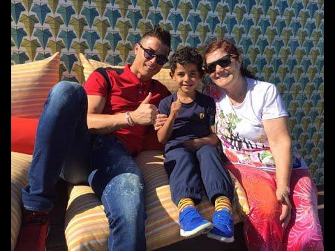 Cristiano Ronaldo and Irina Shayk with his Family 2016 ● HD