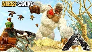 Ark Extinction - Desert Monkey Boss Fight
