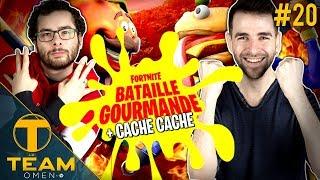 Bataille Gourmande & Cache Cache sur Fortnite - La Team #20