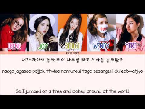Red Velvet - Huff N Puff [Eng/Rom/Han] Picture + Color Coded HD