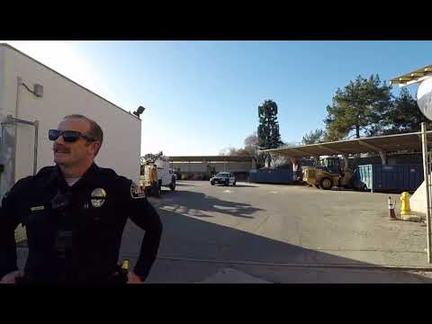 LA HABRA PUBLIC WORKS EMPLOYEES A BUNCH OF CRYBABY'S 1ST AMENDMENT AUDIT  #LAHABRAPOLICE