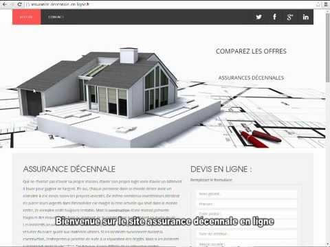 assurance d cennale en ligne youtube. Black Bedroom Furniture Sets. Home Design Ideas