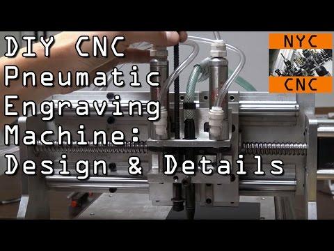 DIY CNC Engraving Machine Details & Design