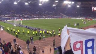 AS Roma / OL (Europa League 16-17) - Supporters lyonnais