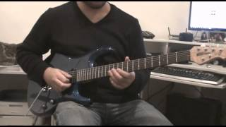Whitesnake - Too Many Tears - Guitar Lesson - Video Aula Português - Solo - Kleber K. Shima