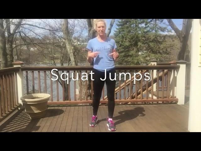 Squat Jump Circuit