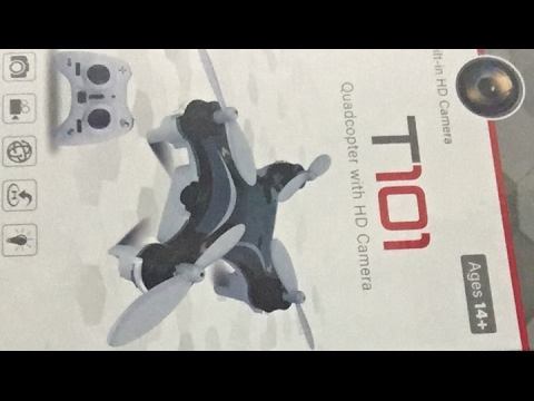 T101 Worlds First Spy Nano Drone Unboxing and Review