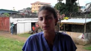 Tatiana Silva en Sierra Leone