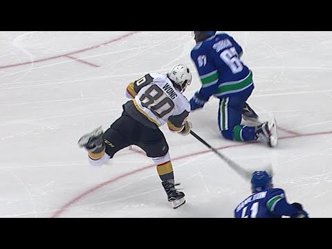 VGK@VAN: Wong records hat trick in preseason debut