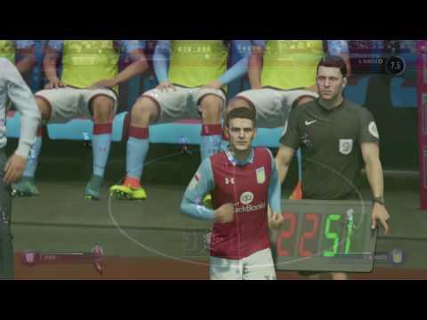 FIFA 17 - ASTON VILLA VS PRESTON