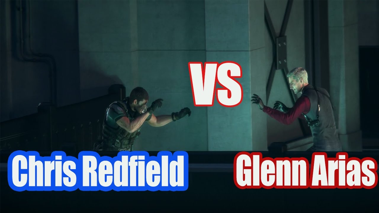 Chris Redfield Vs Glenn Arias Resident Evil Vendetta 4k Youtube