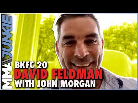 BKFC boss David Feldman: Diego Sanchez signing almost finalized