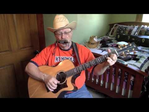 1829 -  Lost Highway -  Hank Williams vocal & acoustic guitar cover with chords