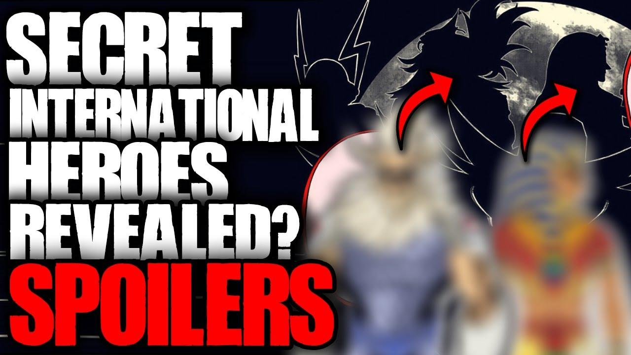 Secret International Heroes Revealed? / My Hero Academia Spoilers
