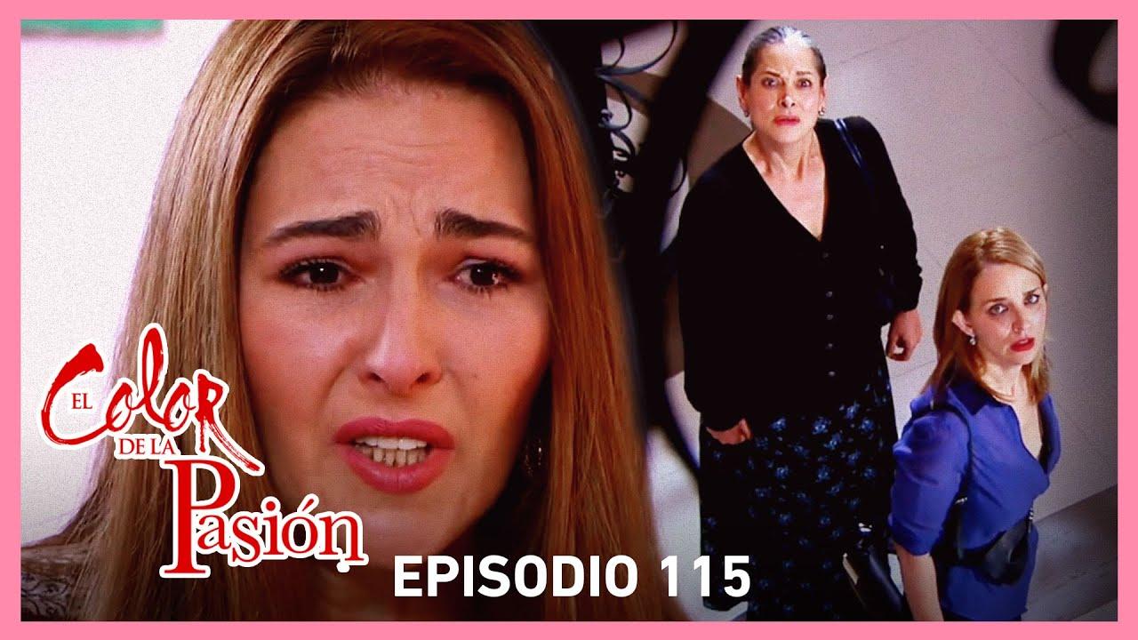 Download El color de la pasión: Magdalena descubre que Rebeca mato a Adriana | C-115 | Tlnovelas