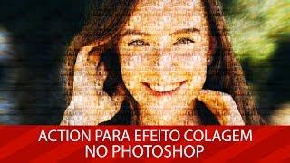 🚀 BAIXE GRATUITAMENTE: Action para Colagem de fotos no Photoshop