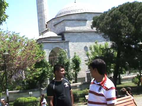 GODHRA ANWAR SHAIKH & ZEESHAN BLUE MOSQUE (ISTANBUL) TURKEY