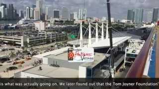 Carnival Breeze Cruise Vlog April 2015 Day 8 Miami