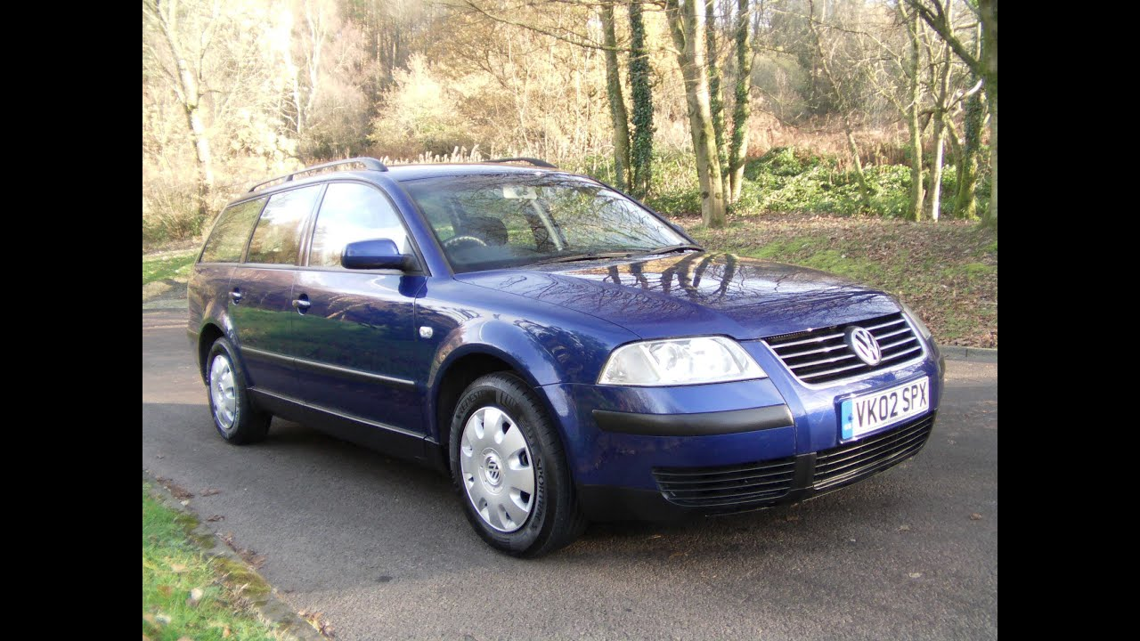 2002 vw passat estate 1 9 tdi now sold youtube. Black Bedroom Furniture Sets. Home Design Ideas