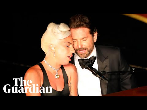 Lady Gaga sings Shallow and pays tribute to Bradley Cooper in Oscars speech