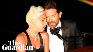 Baixar Lady Gaga sings Shallow and pays tribute to Bradley Cooper in Oscars speech