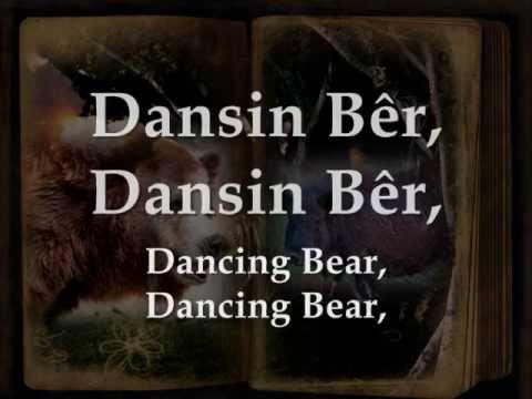 Dansin Bêr - Gwyneth Glyn (geiriau / lyrics)